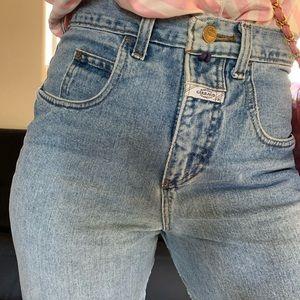 Vintage hi waist denim
